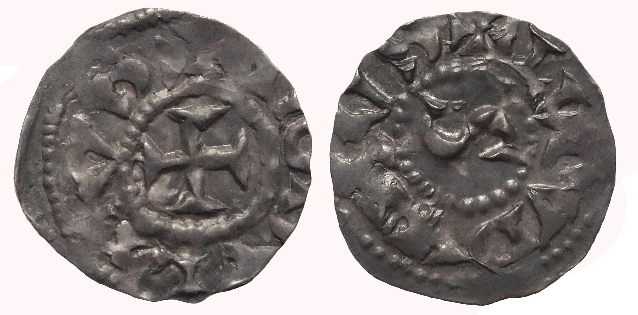 Бургундское королевство, Лион. Рудольф III (993–1003). Денарий