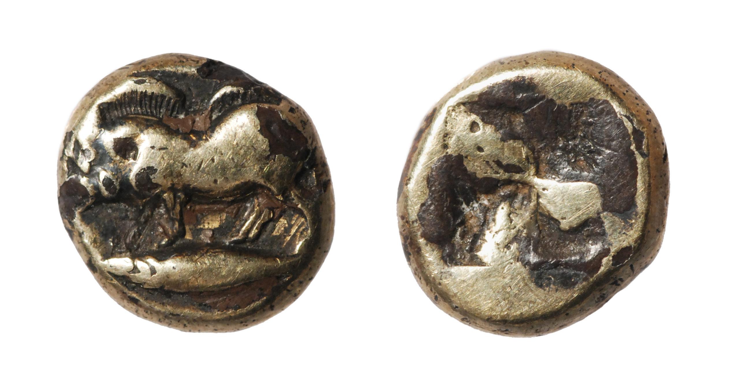 Плакированная гекта Кизика. 500–460 гг. до н.э.