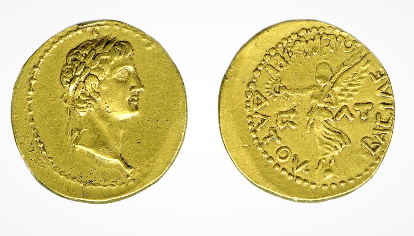 Золотой статер Митридата VIII