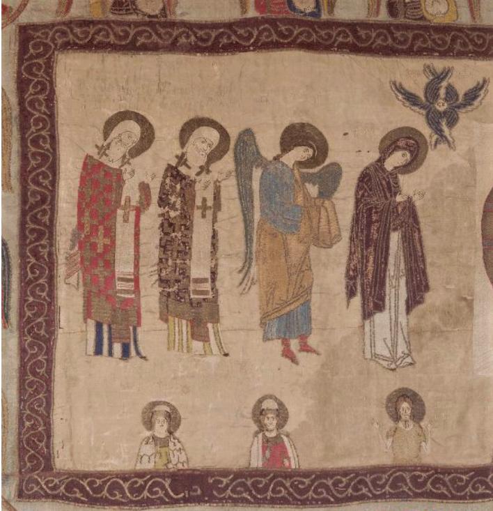 «Спас на убрусе с предстоящими» Москва. 1389 г.