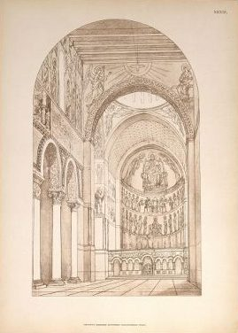 Внутренний вид церкви.