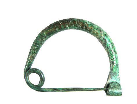 Фибула дуговидная. 9-8 вв до н.э.