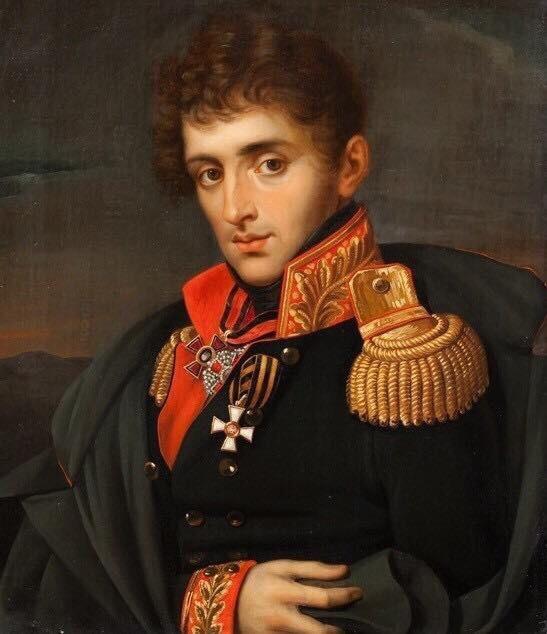 Неизвестный художник. Портрет генерал-майора А.А. Тучкова 4-го. Середина XIX в.