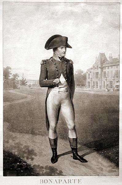 2. Н.Бонапарт Гравюра Ш.Л.Линже и Ж.Годфруа по оригиналу Ж.Б.Изабе 1803 г.
