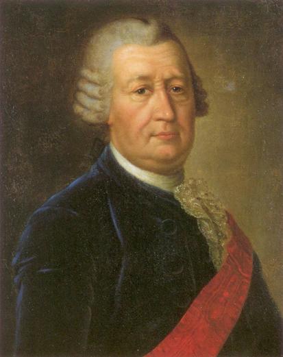 Портрет Ф.И. Соймонова. Работа неизвестного художника.