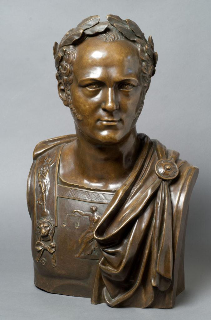 5.Император Александр I. Скульптор И.П. Мартос. Бронза. 1822.
