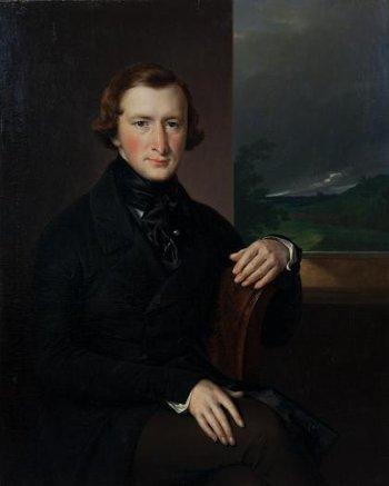 Портрет Юрия Федоровича Самарина (1819 - 1876). Тропинин Василий Андреевич. 1844 г.