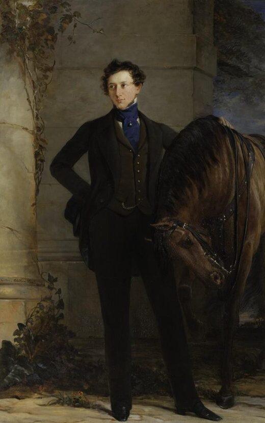 Портрет Владимира Петровича Давыдова (1809–1882). Робертсон Кристина (Robertson Christina), 1840 г.