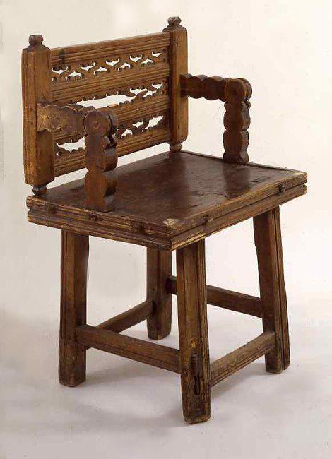 Кресло. XVII в.