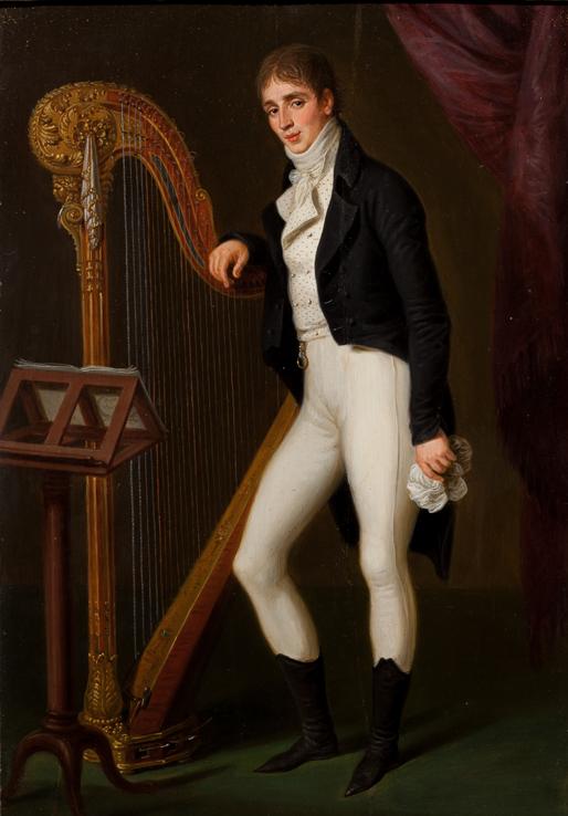 Н. М. Гусятников (1766 – после 1840). Художник Л. Гуттенбрунн. 1801 г.