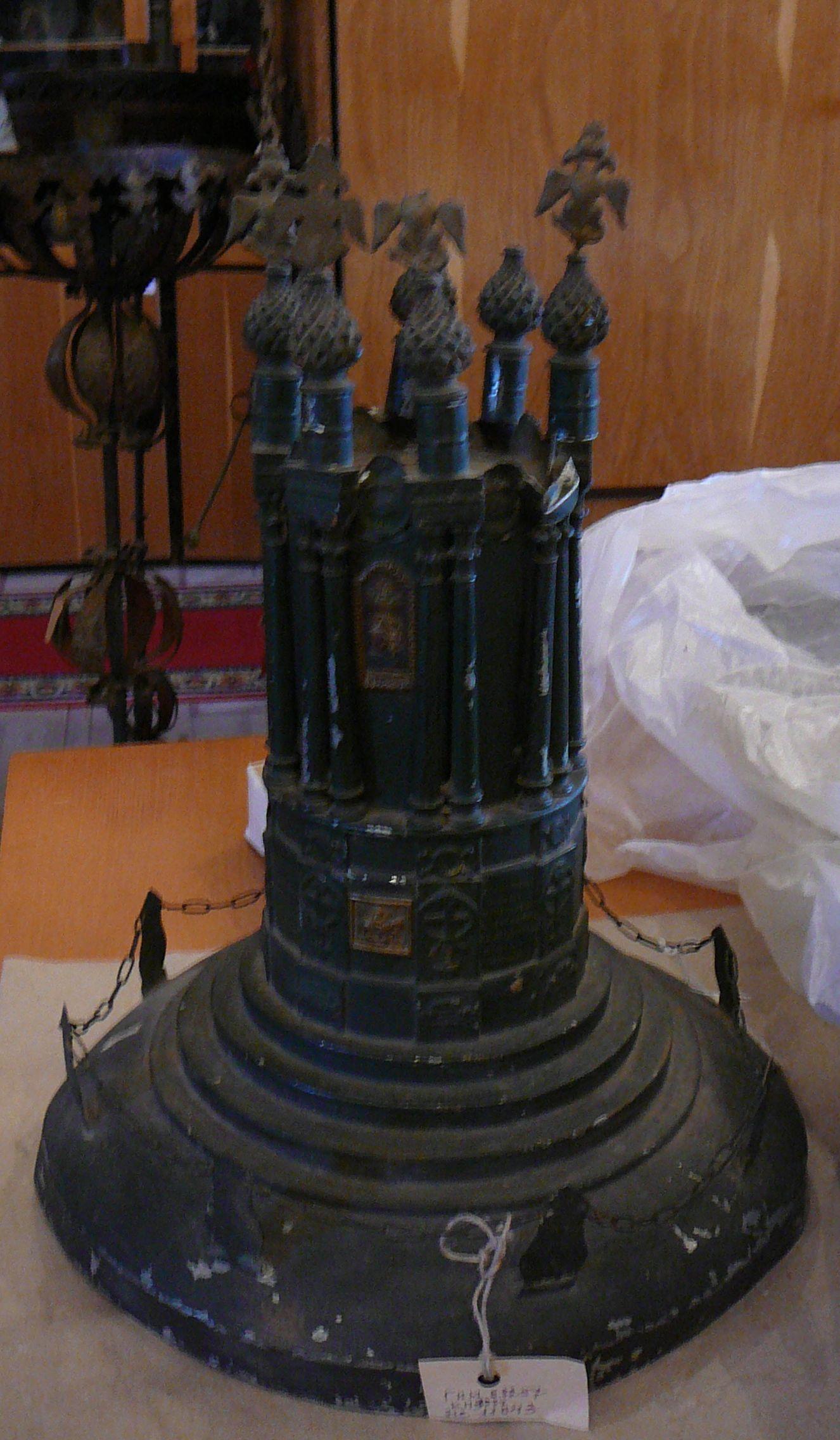 Модель памятника до реставрации. 2009 г.