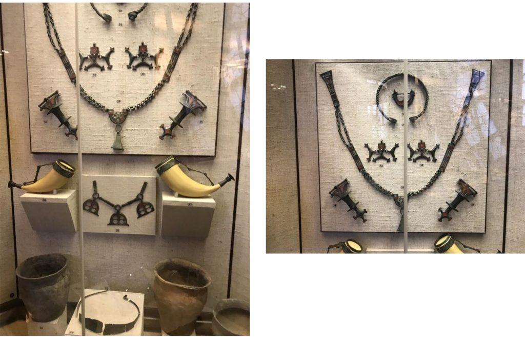 Брянский клад в экспозиции 7 зала Исторического музея