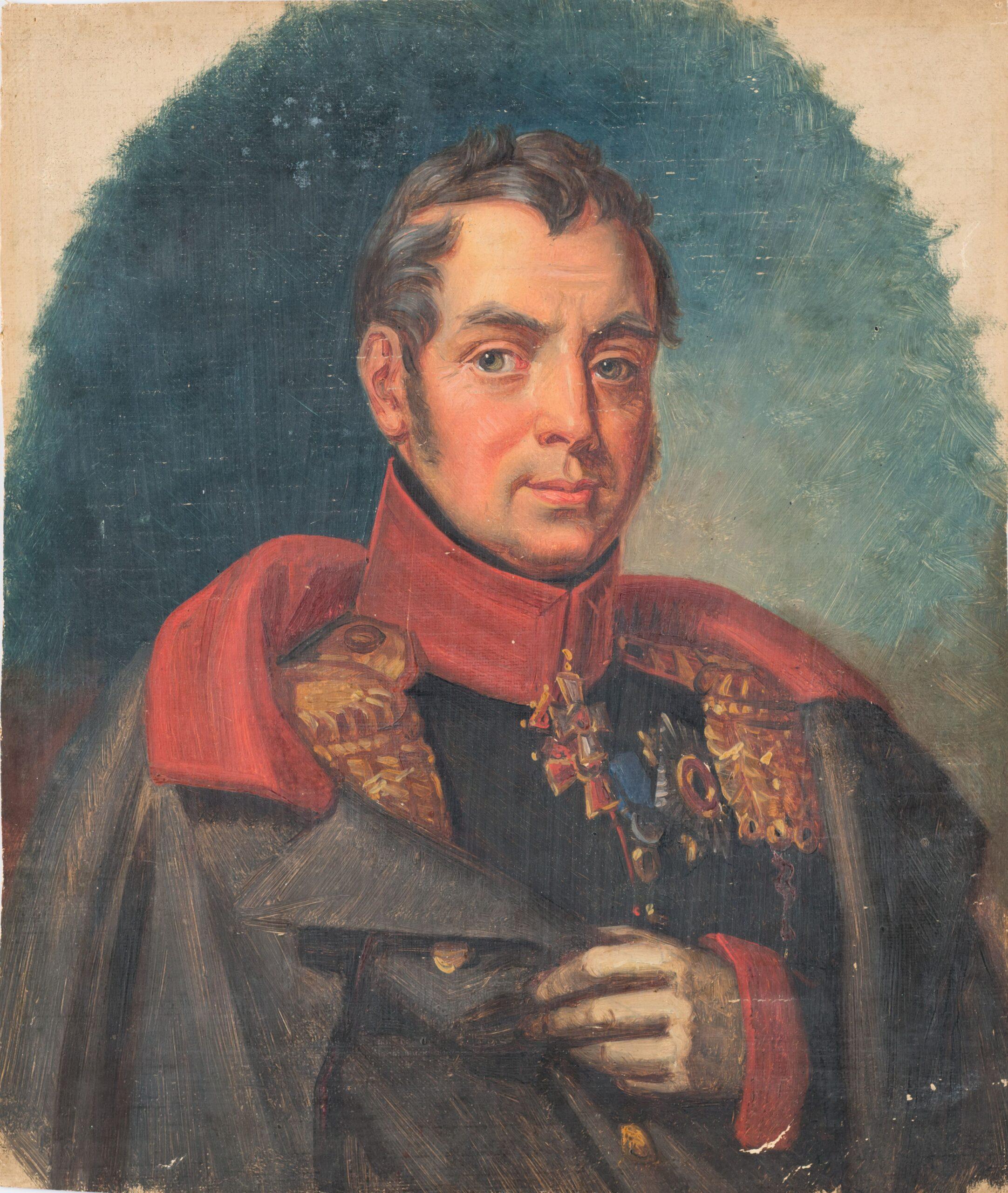 Портрет Михаила Дмитриевича Балка. 1840-е