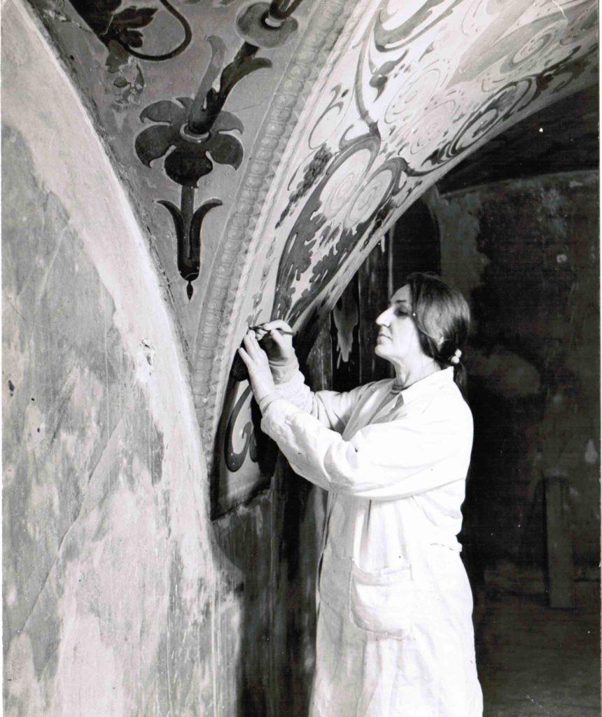 Восстановление живописи в столовой палате