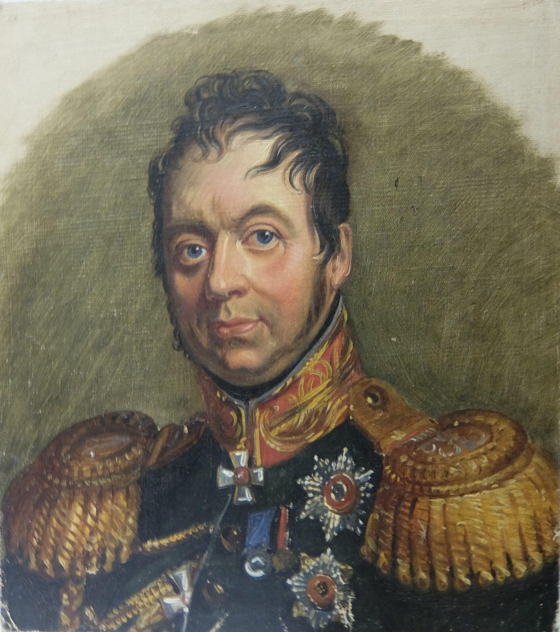 Портрет барона Федора Карловича Корфа. Середина XIX в
