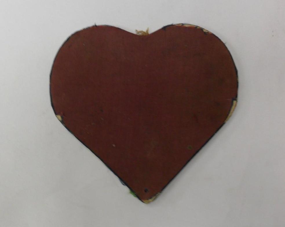 Записная книжка О. М. Медынцевой в форме сердца с путевыми заметками. 13 июня 1840–1842 гг.