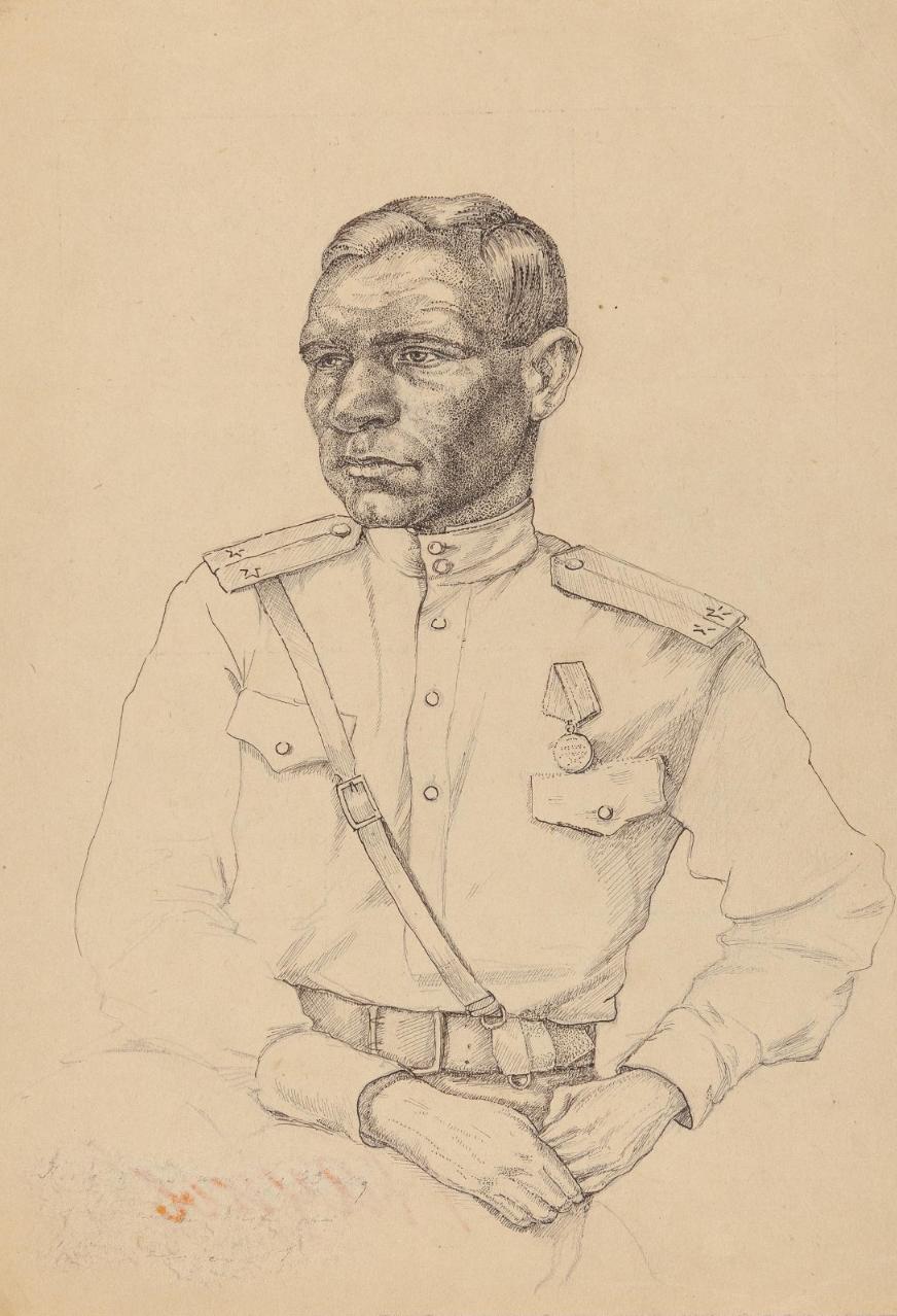 Иванов, лейтенант. Пауков А. И. 1942 г.