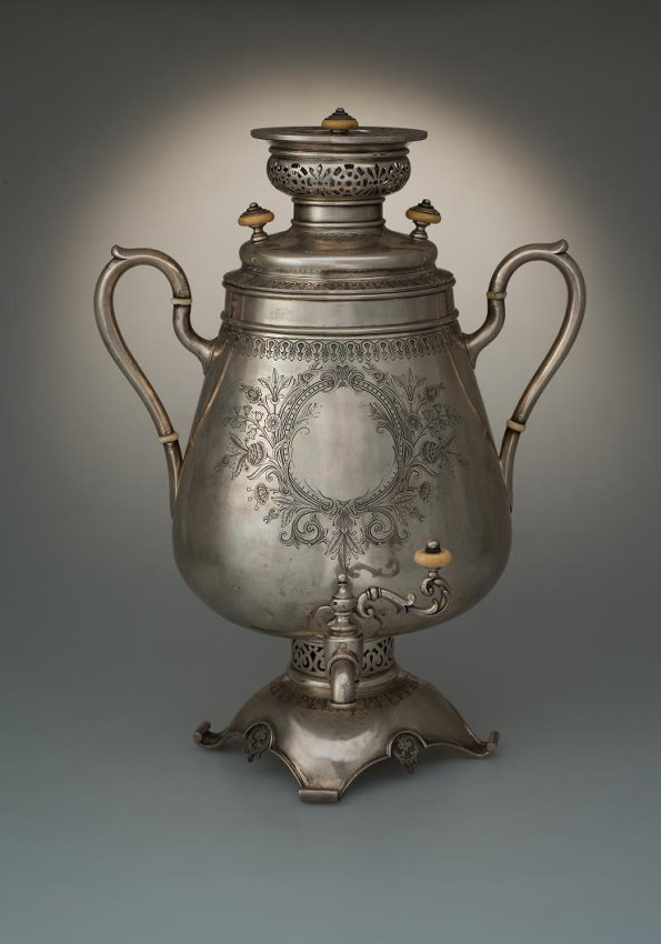 Самовар. Фирма П. Овчинникова. 1891 г.