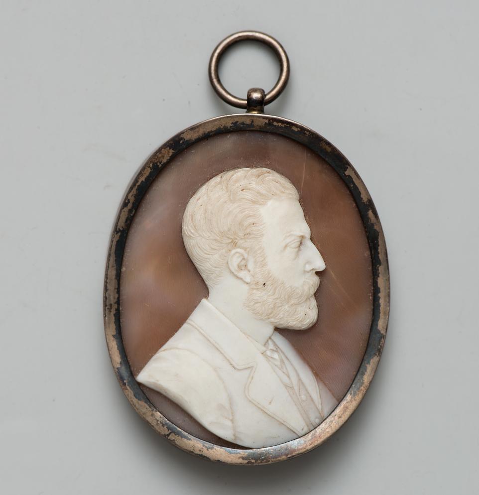 Неизвестный автор. Портрет графа Михаила Михайловича Толстого-старшего. 1873 г. (?) Камея