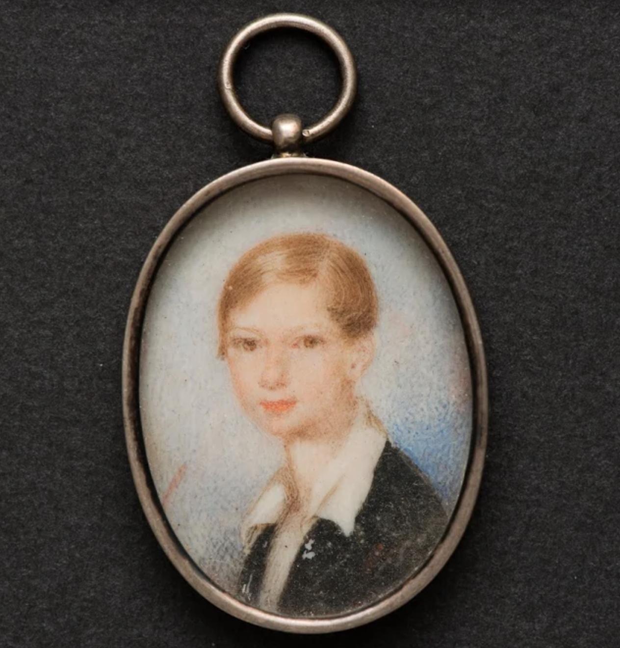Неизвестный художник Портрет графа Михаила Михайловича- старшего. 1840-е Кость, гуашь