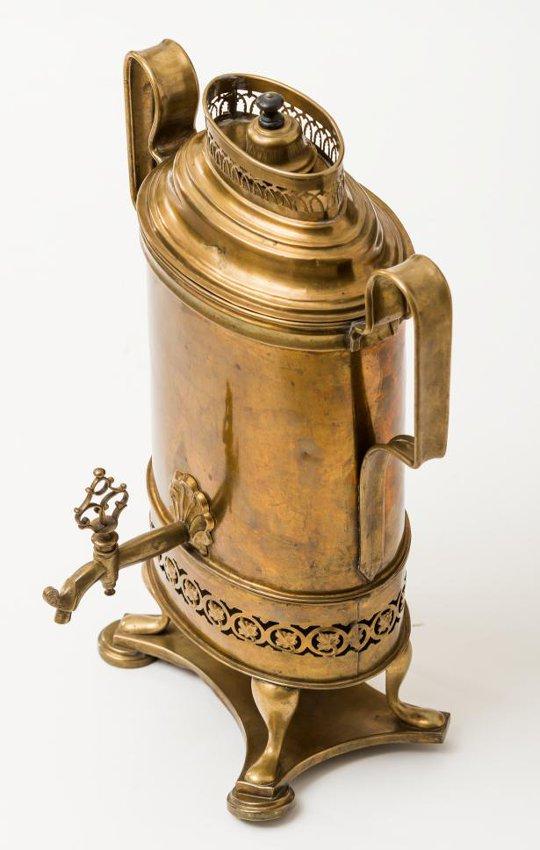 Кофейник-самовар. 1820-30е гг.