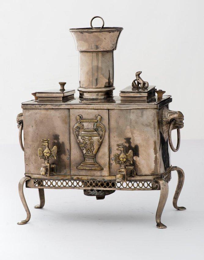 Самовар-кухня для чая и кофе. 1830-е гг.