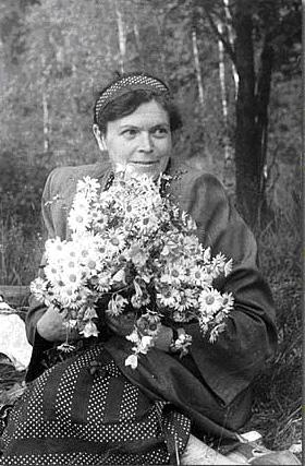 Майя Васильевна Фехнер (1909-1996), сотрудник отдела археологических памятников Исторического музея