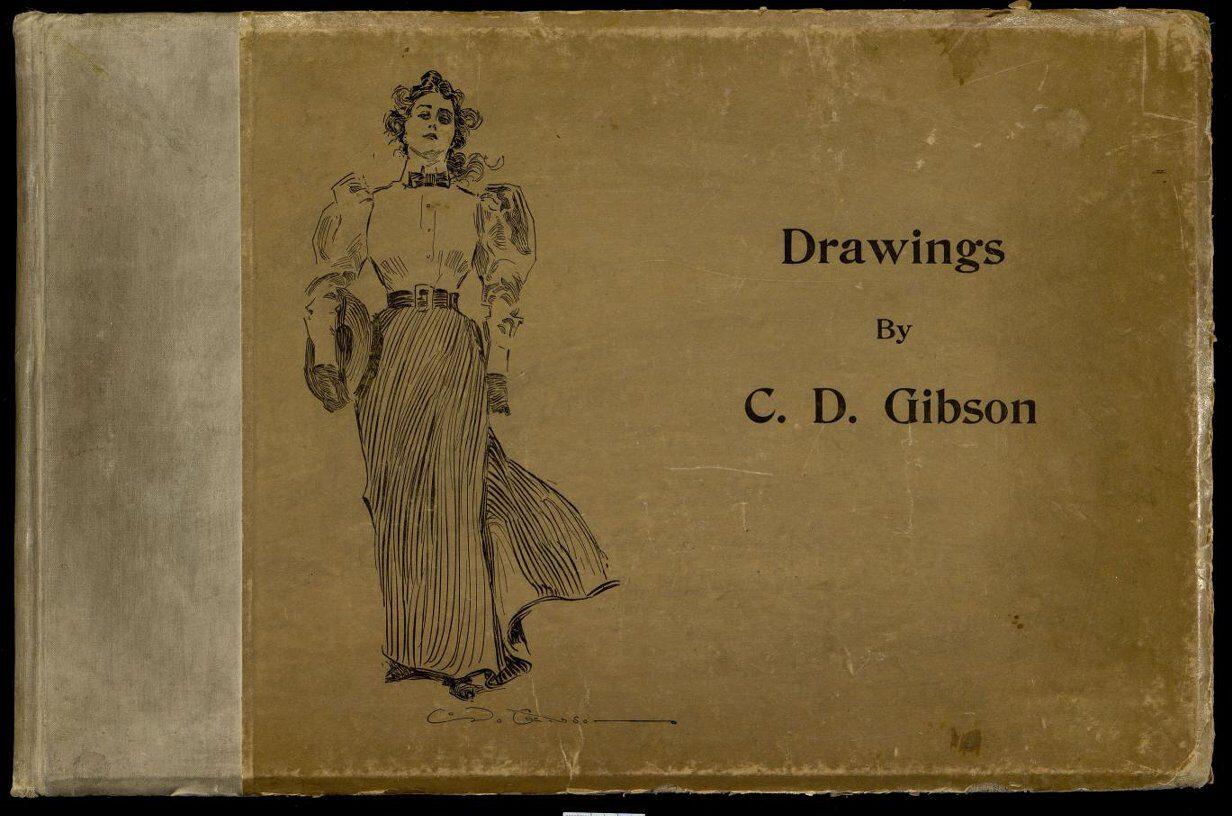 Drawings. Альбом рисунков Ч. Д. Гибсона. Gibson Ch.D. J.W. Pratt Co. 1901 г.