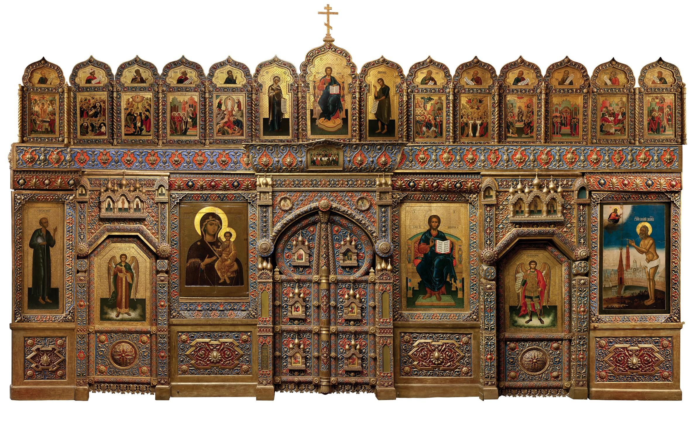 Иконостас церкви Василия Блаженного