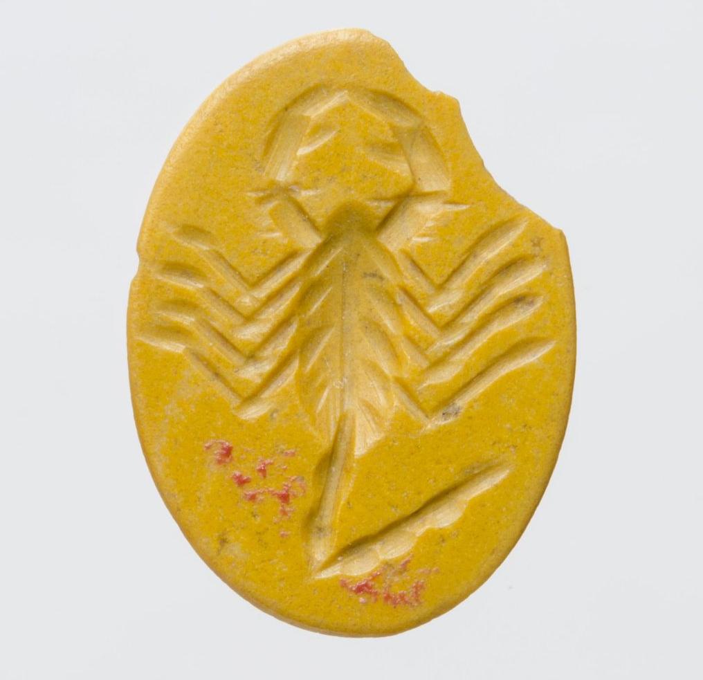Гемма (яшма) с изображением: скорпион. III в. до н.э. — III в. н.э. Ольвия