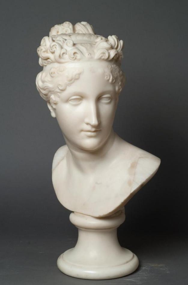 Портрет Полины Бонапарт. Канова, Антонио. 1800-е гг.