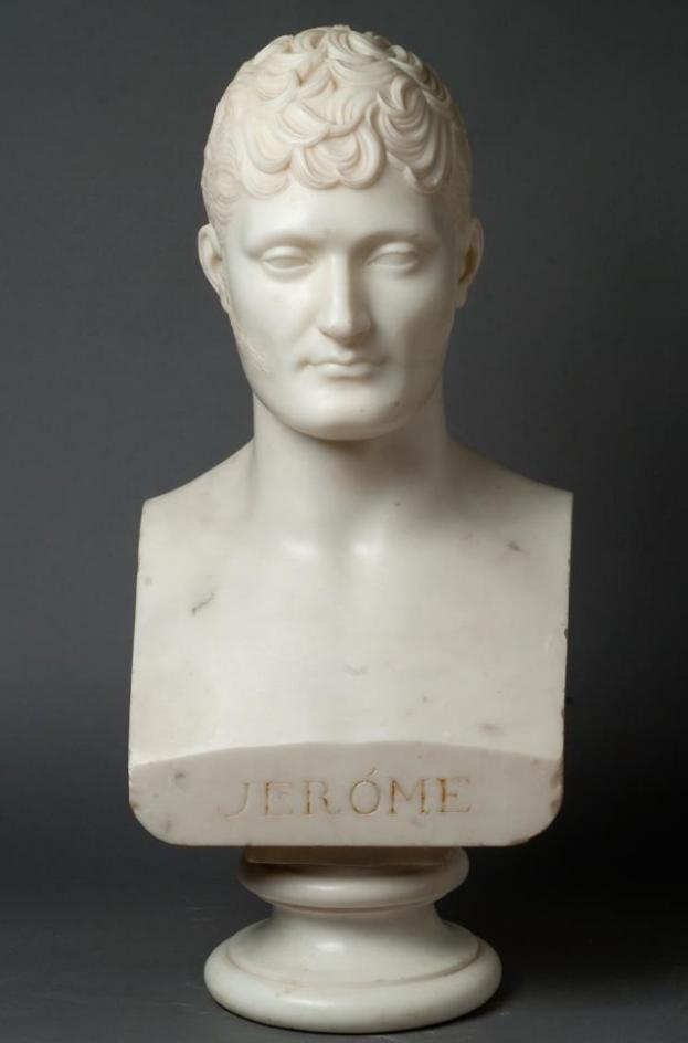 Портрет Жерома Бонапарта (1784-1860), короля Вестфальского, брата Наполеона I. Канова, Антонио. 1800-е гг.