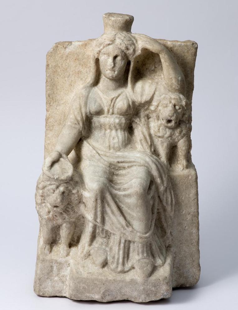Статуя сидящей Кибелы. I в. до н. э. – I в. н. э.