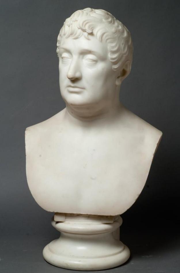 Портрет Иосифа Бонапарта (1768-1844), короля испанского, брата Наполеона I. Канова, Антонио. 1800-е гг.