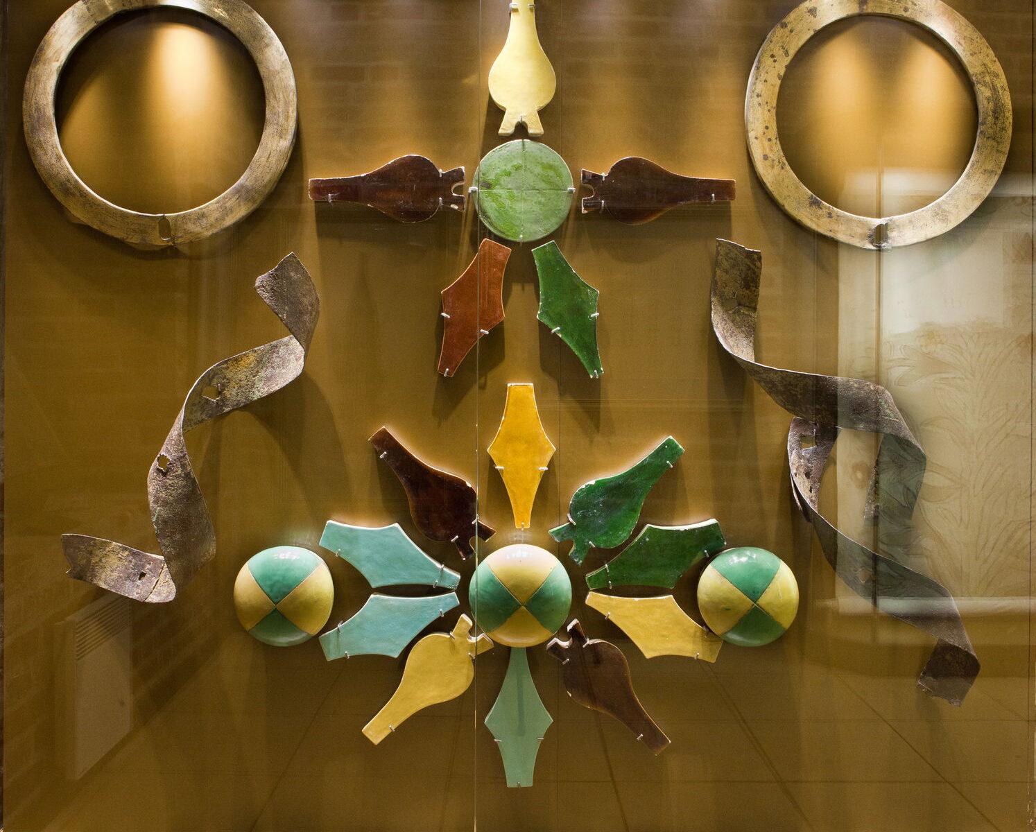 Латунные кольца в экспозиции музея «Покровский собор»