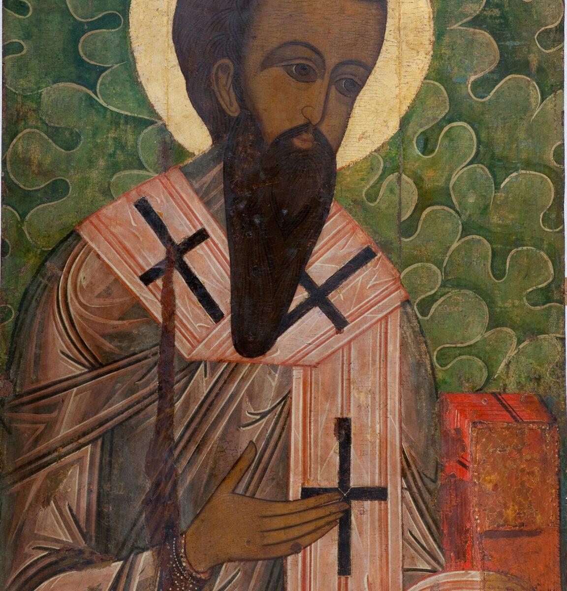 Икона «Святой Василий Великий». XVI в.