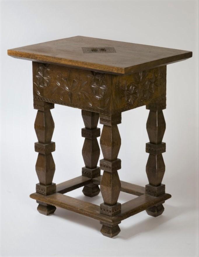 Столик для рукоделия. Поленова Е.Д. 1885-1890-е годы