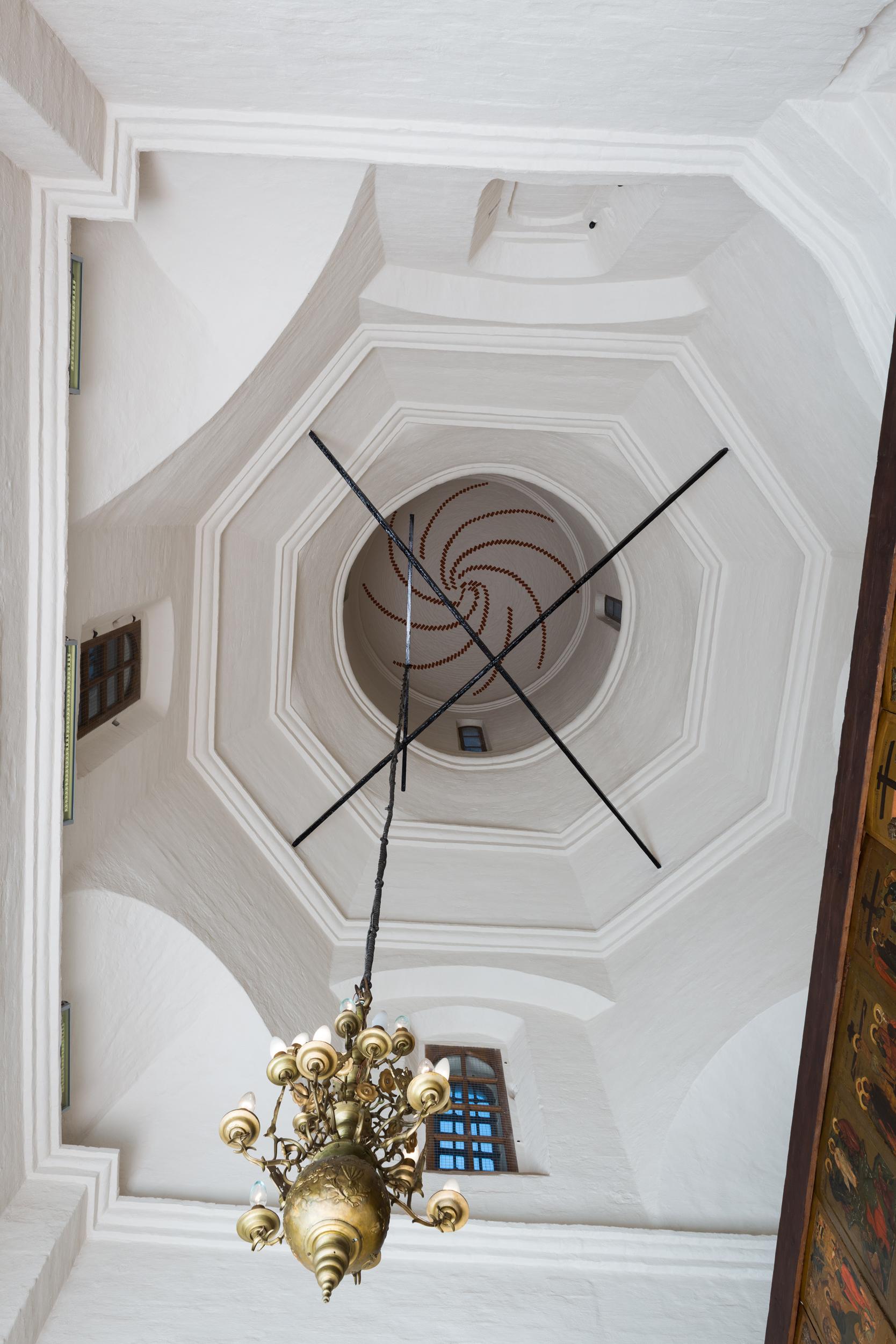 Интерьер церкви святителя Григория Армянского
