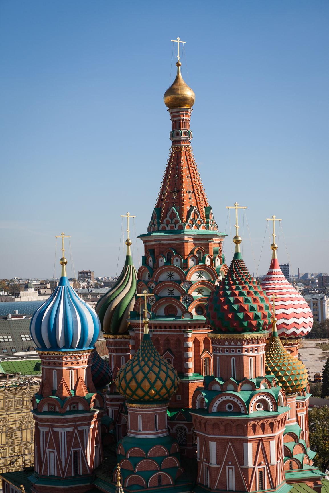 Фасад Покровского собора