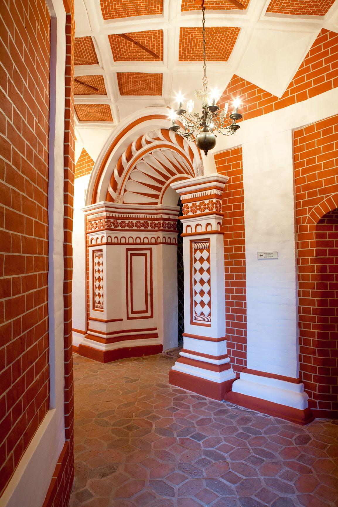 Западный участок внутренней галереи