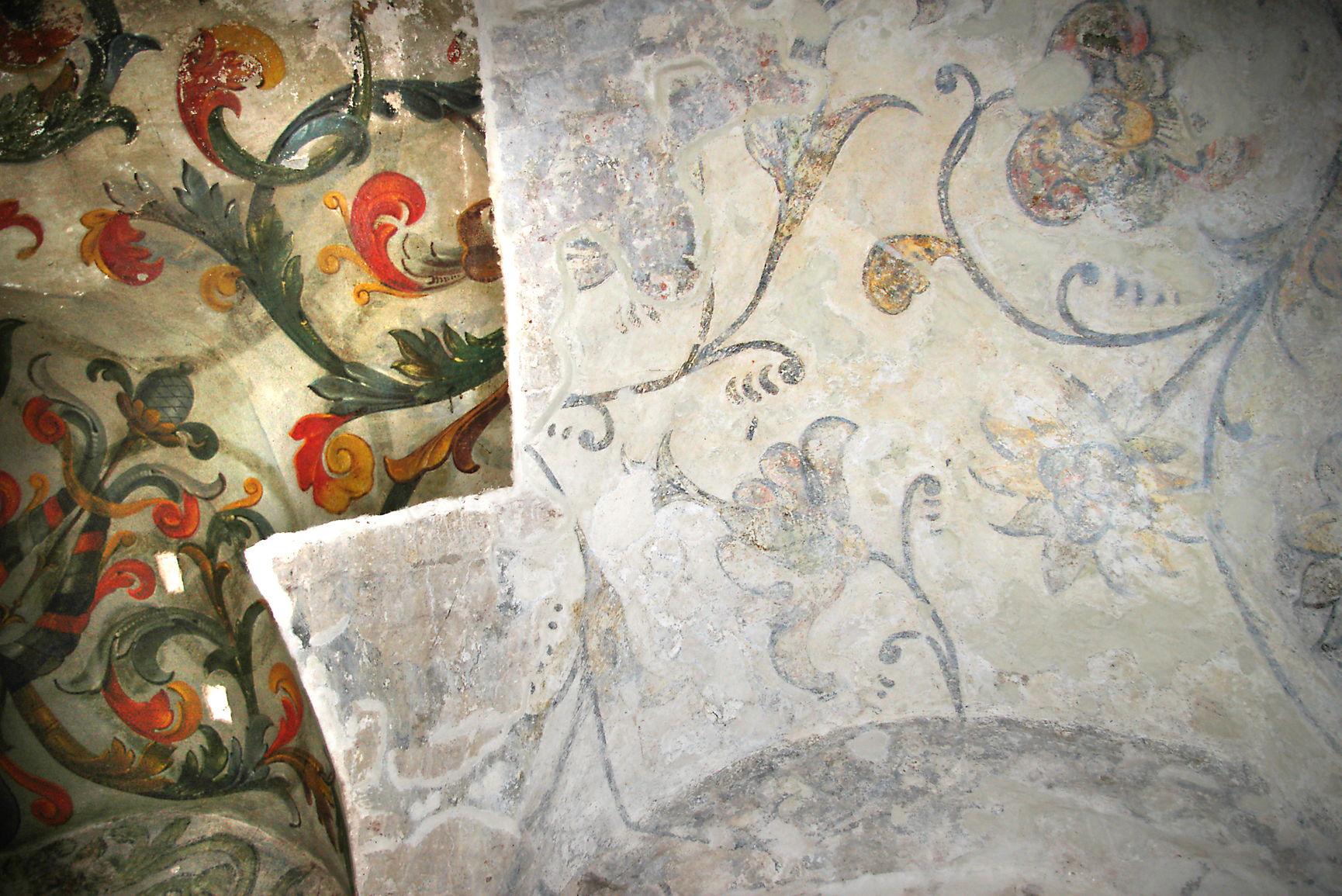 Свод юго-восточной площадки храма