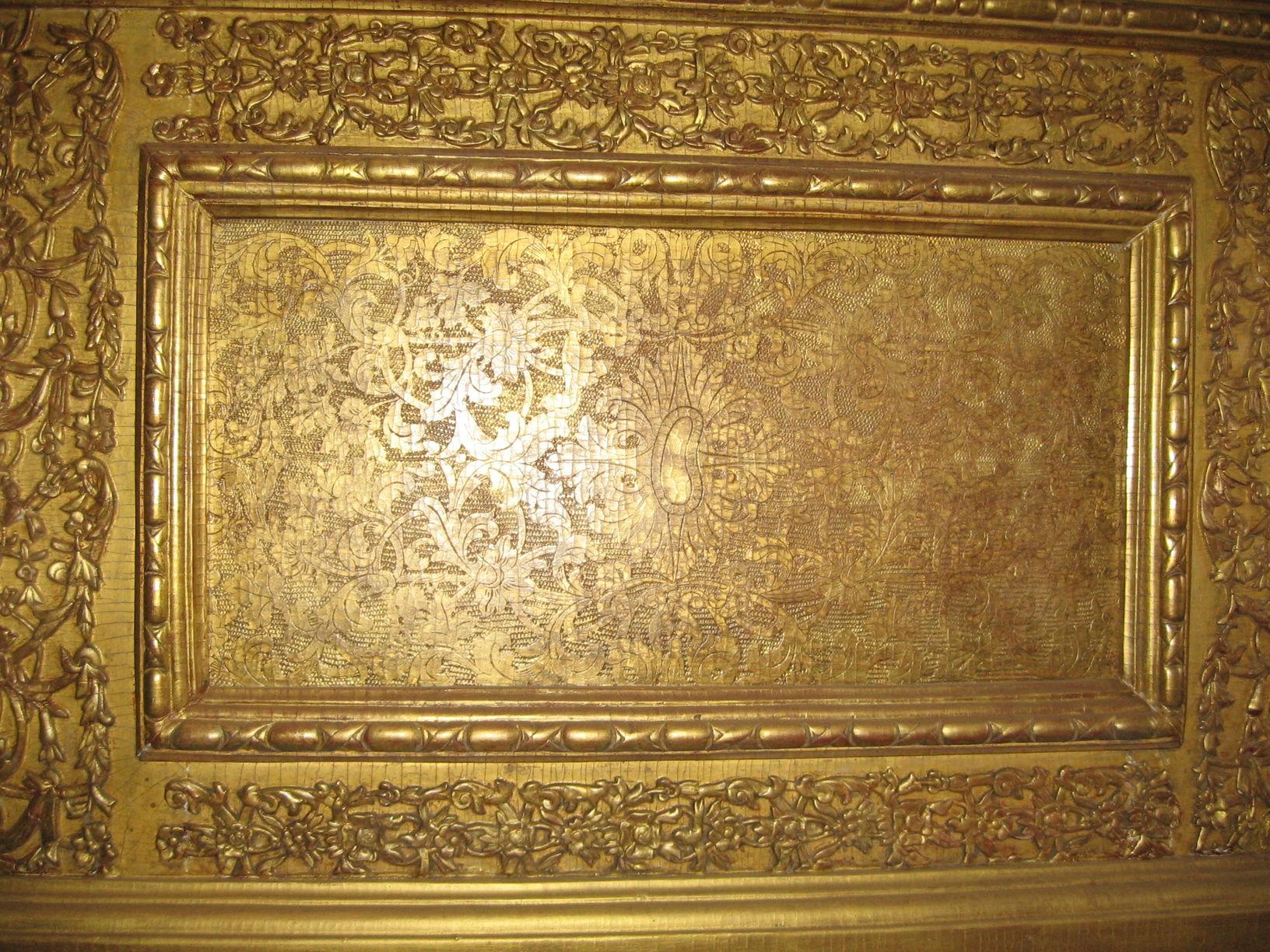 Фрагмент подместного ряда иконостаса