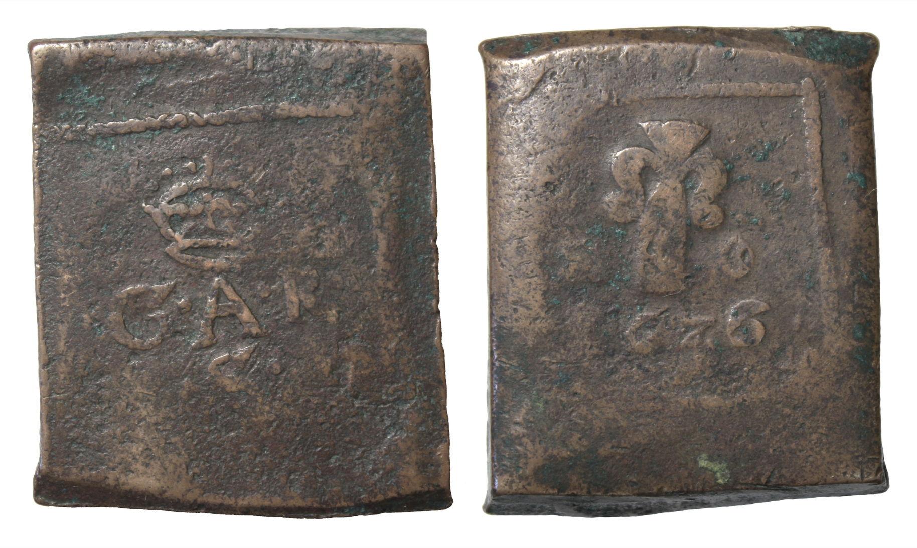 Швеция. ГуставII Адольф (1611–1632). 2 эре 1626г.