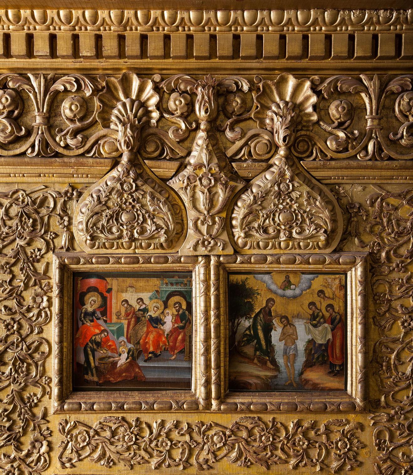 Иконы праздничного ряда иконостаса