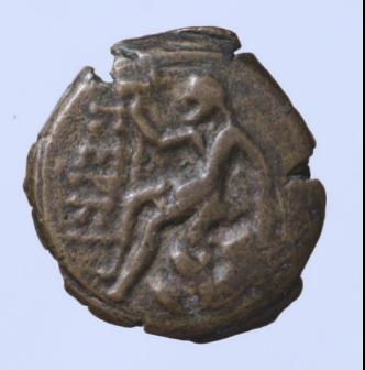 Монета Керкинитиды конца IV в. до н.э.из собрания П.О. Бурачкова