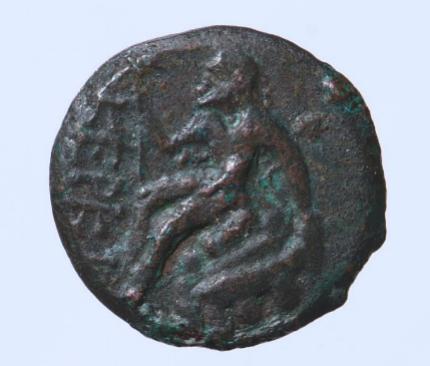 Монета Керкинитиды конца IV в. до н.э. из собрания С.И. Чижова