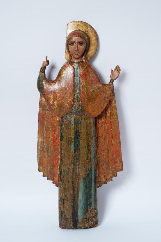 Фигура Параскевы Пятницы. XVII в.