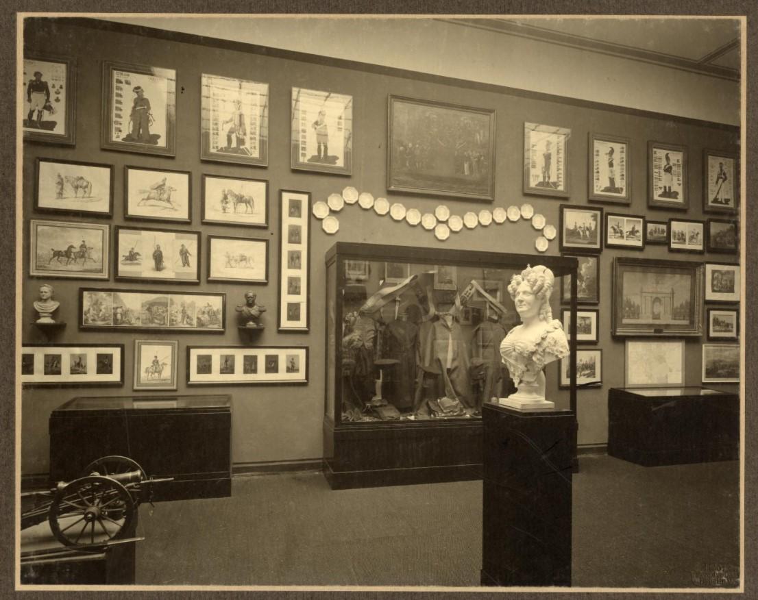 H.Götz. Зал русской армии на выставке в г.Бреславль. 1913 г.