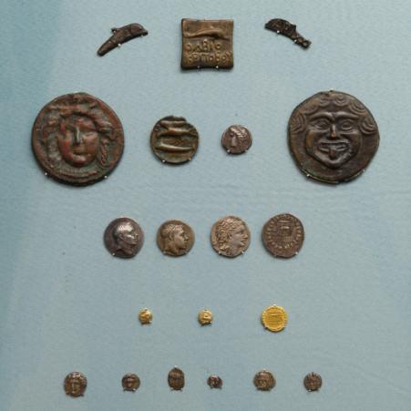 Коллекция античных монет П.О. Бурачкова