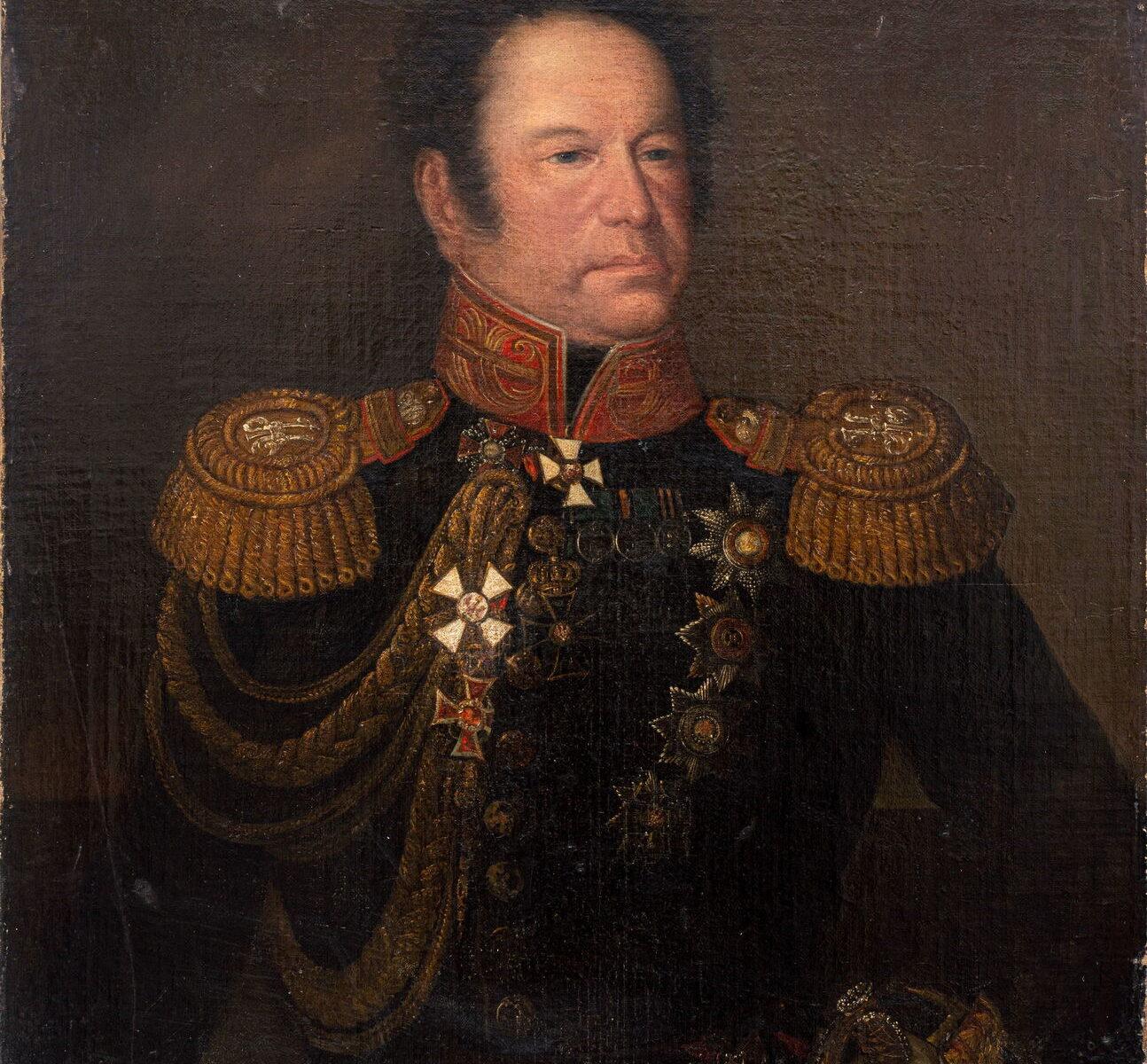 Неизвестный художник Портрет графа Ридигера Федора Васильевича, 1832- 1835 гг.